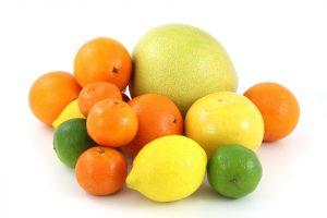 blanquear los dientes con frutas