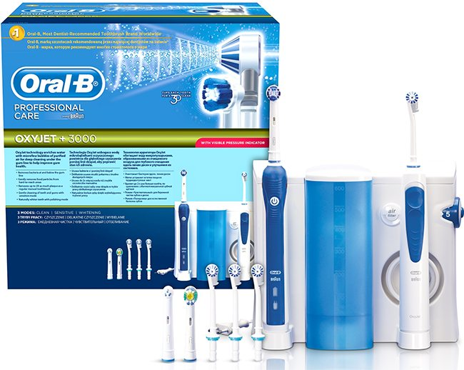 oral-b oxyjet pro 3000 opiniones