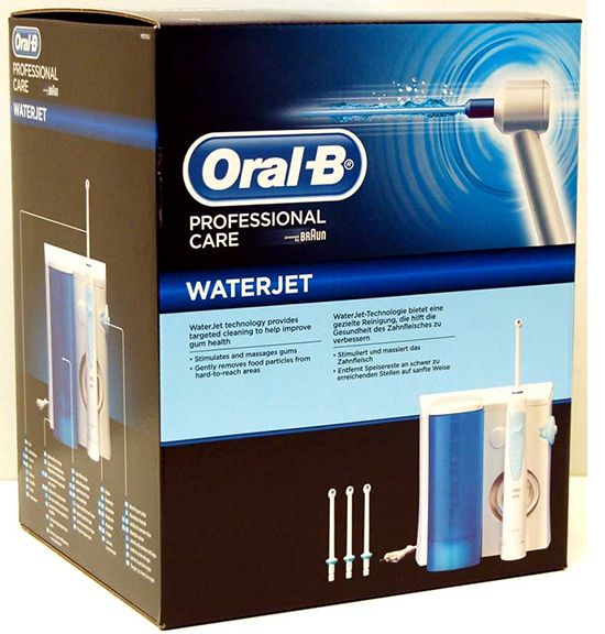 oral-b waterjet md16