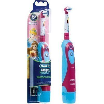 cepillo de dientes electrico infantil Braun D2010