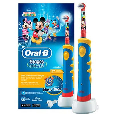 cepillo electrico para niños Oral-B Stages Power Kids de Mickey Mouse