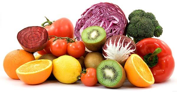 fruta - verdura y ejercicio para evitar lengua blanca