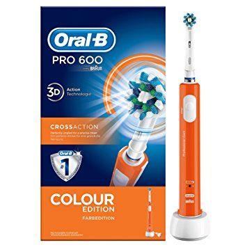 cepillo oral-b pro 600 naranja