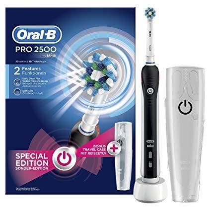 Cepillo de dientes electrico Oral-B pro 2500.