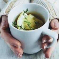 tomillo y limon para amigdalitis