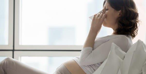 embarazo con faringitis