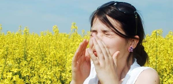 faringitis alergica por polen
