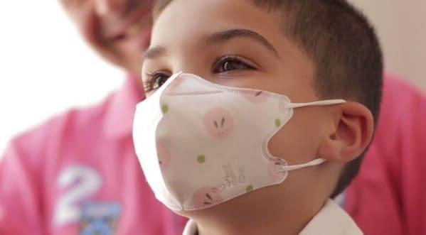mascarilla por faringitis alergica