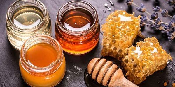 miel para el paladar inflamado