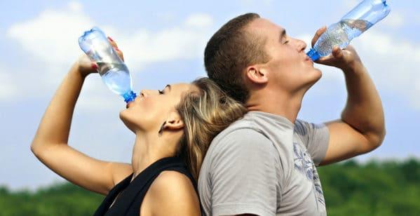 beber agua encias sensibles